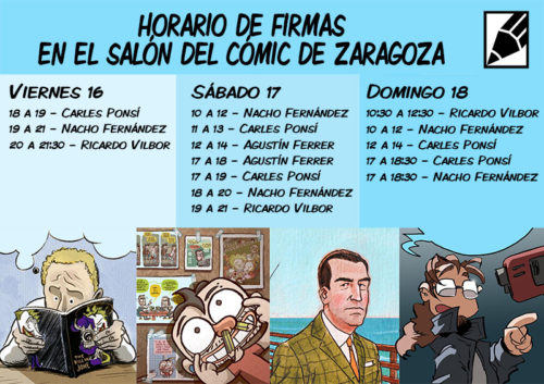 Grafito Salon Comic Zaragoza