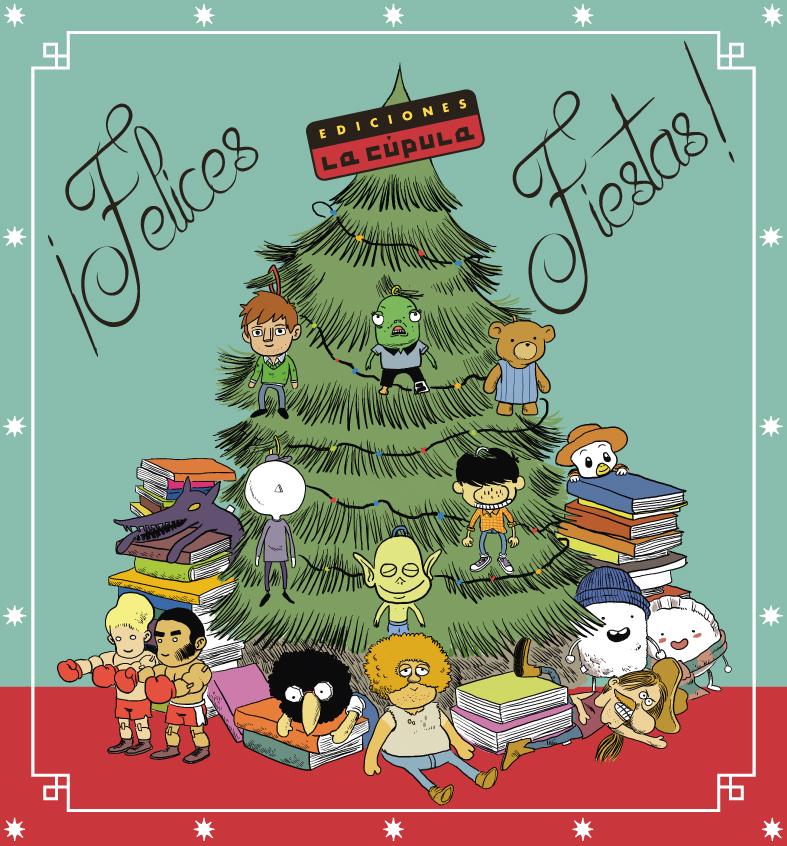 lacupula_ediciones postales navideñas