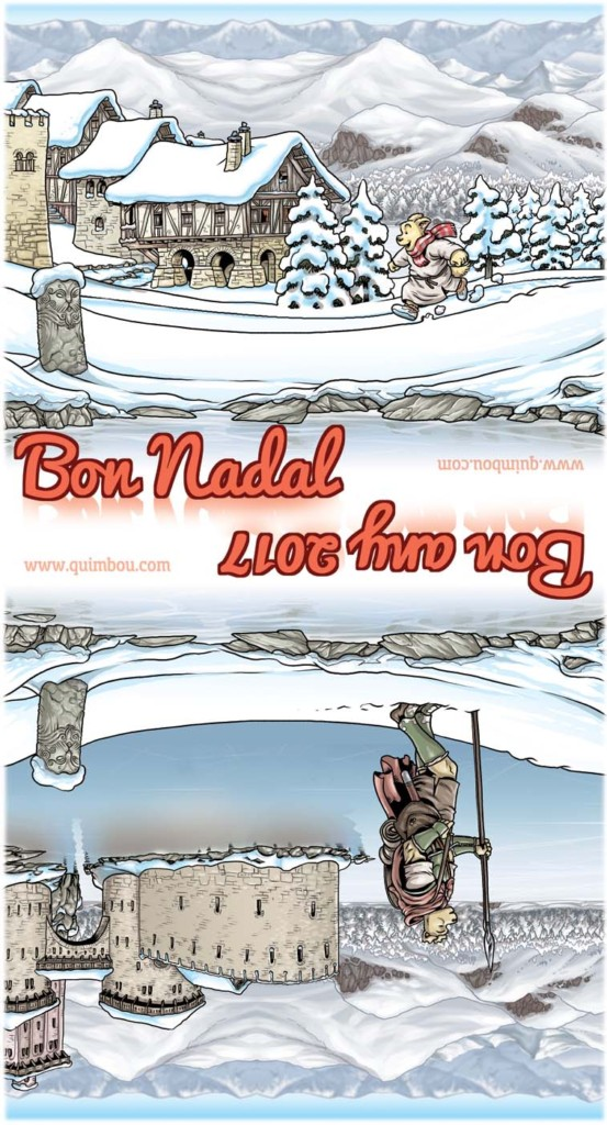 quimbou postales navideñas
