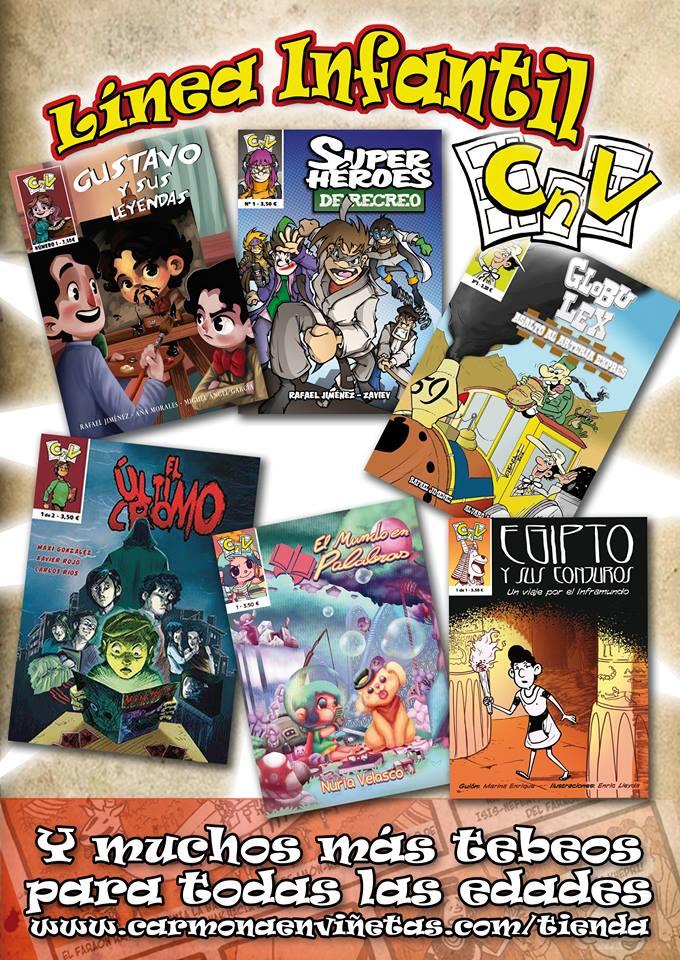 Reseñas desde Star City: Línea infantil de Carmona en Viñetas