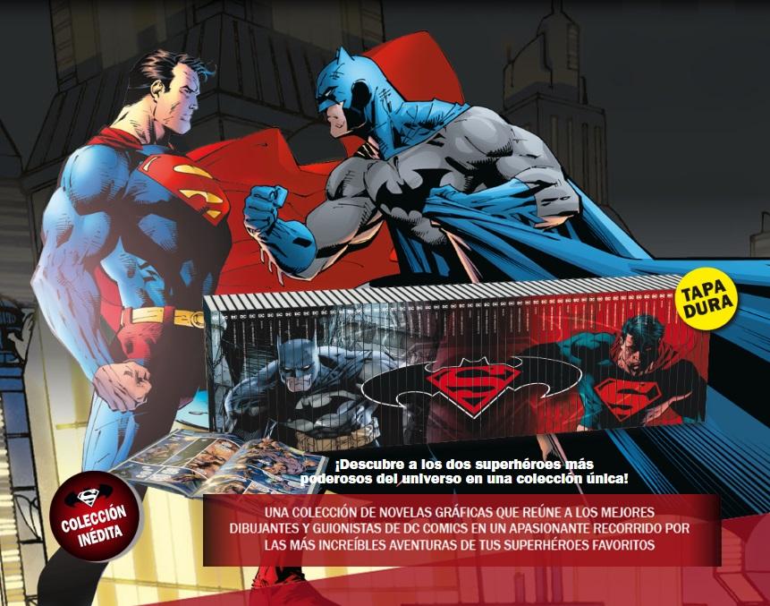Lanzamiento de la colección de novelas gráficas de Batman y Superman