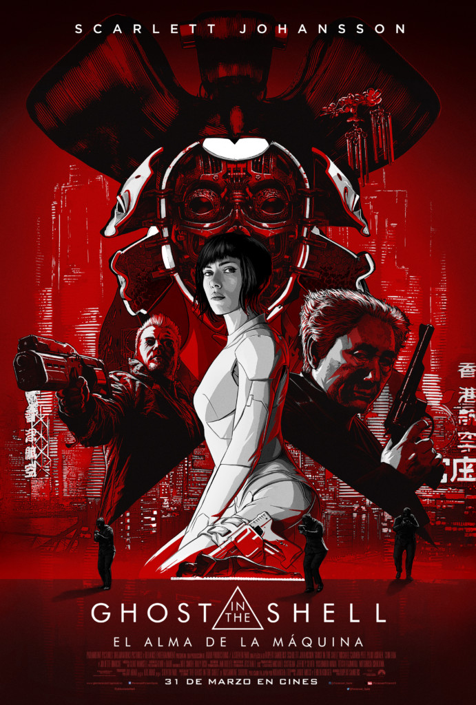 "Nuevo poster y vídeo de ""Ghost in the Shell"""