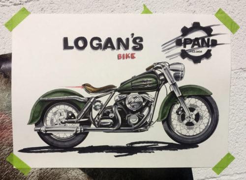 Moto de Logan