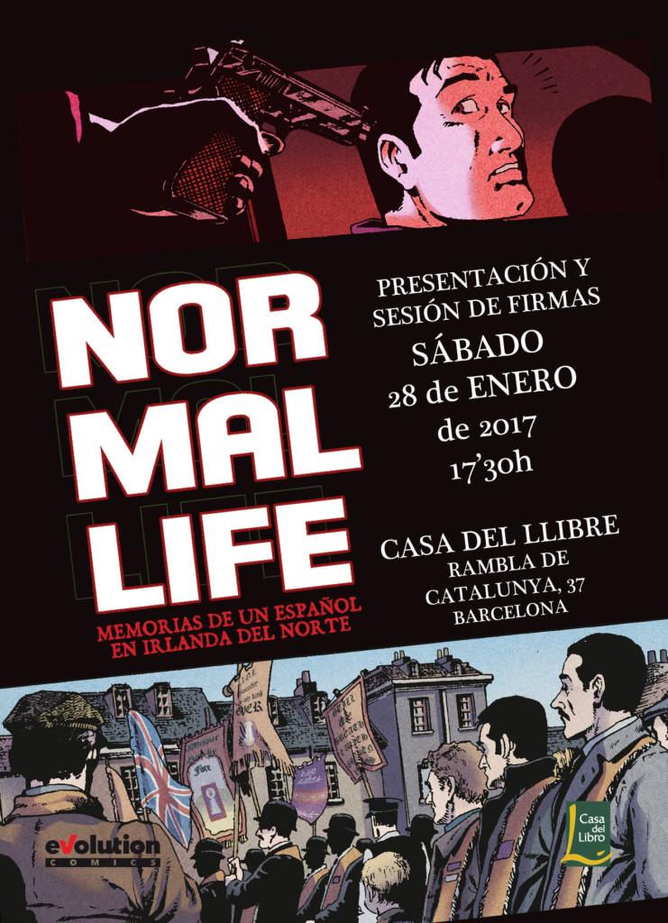Panini presenta Normal Life en Barcelona