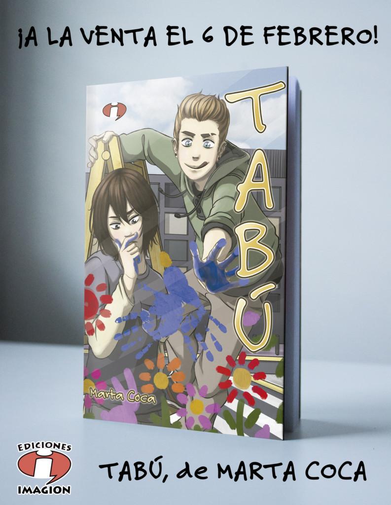Ediciones Imagion presenta Tabú, de Marta Coca
