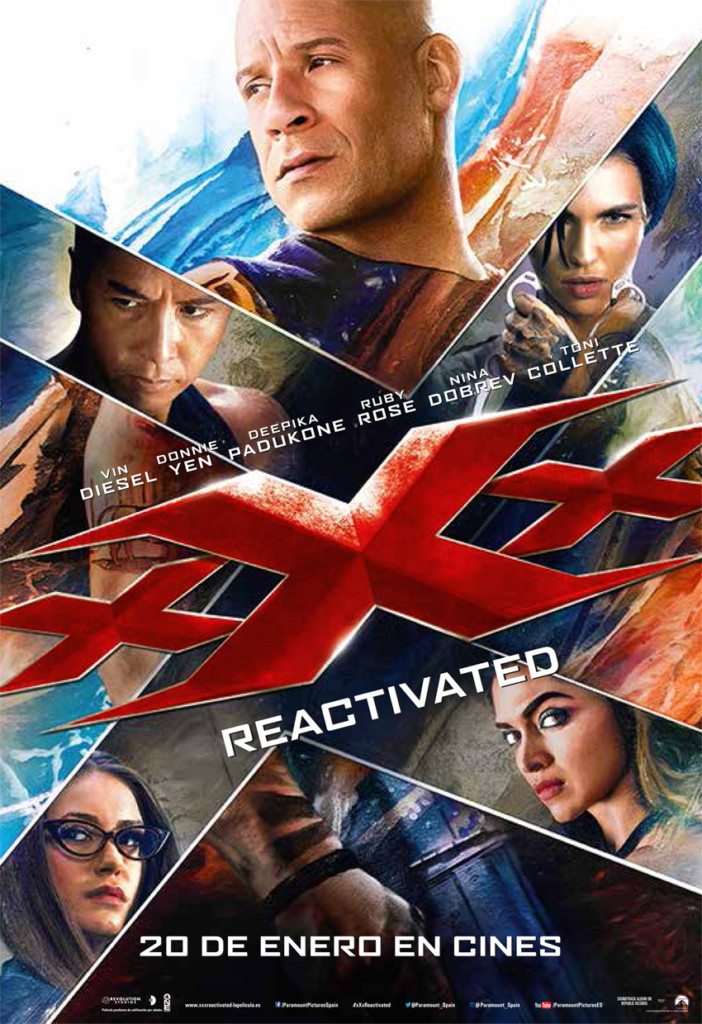 Crítica Cine: xXx: Reactivated