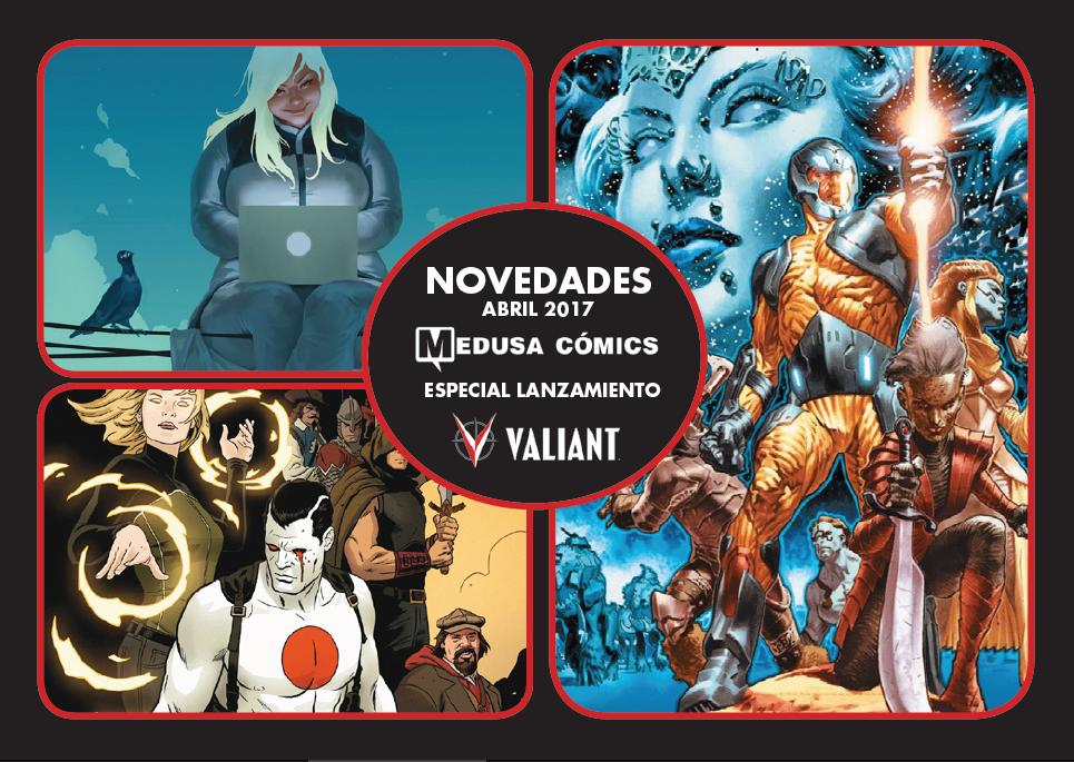 Novedades de Valiant Medusa Editorial