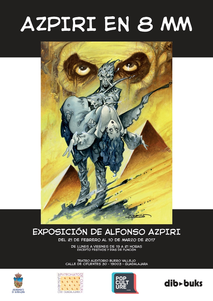"""Exposición """"Azpiri en 8 mm"""""""