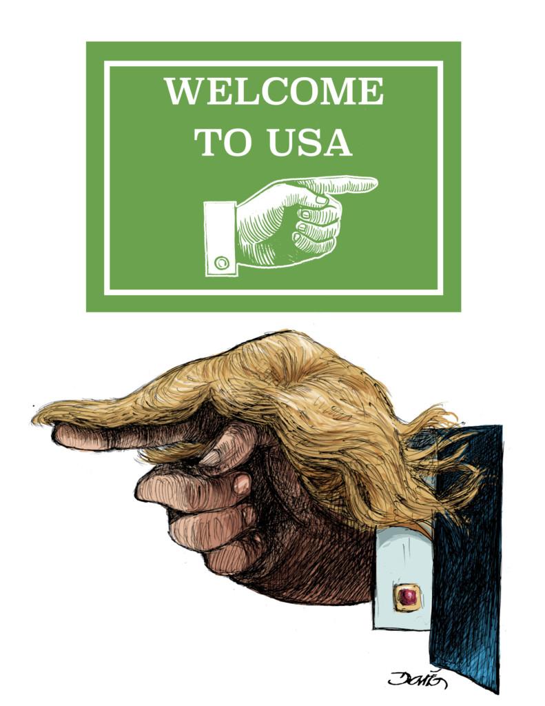 Chistes Gráficos sobre Donald Trump