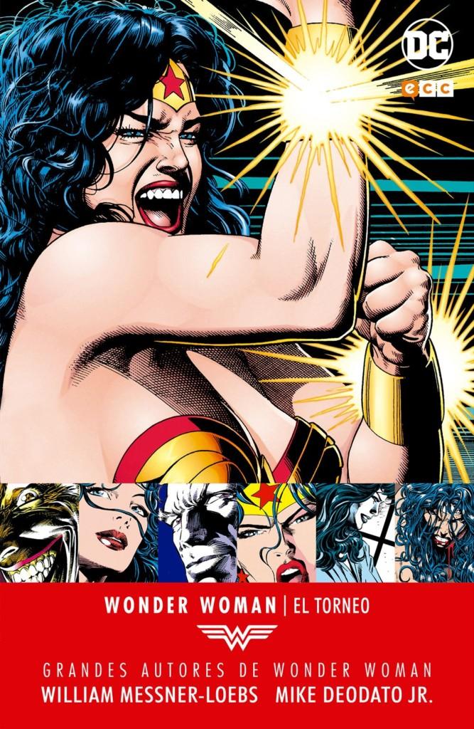 Reseñas desde Star City: Grandes autores Wonder Woman. El torneo