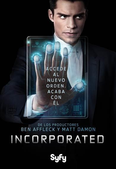 Syfy estrenará en España Incorporated, la nueva serie de Ben Affleck y Matt Damon