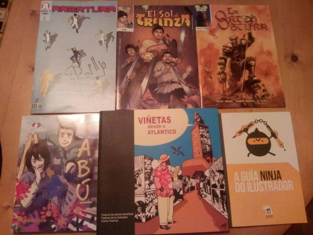 NUEVO SORTEO ELHDLT: Pack de cómics de autores españoles