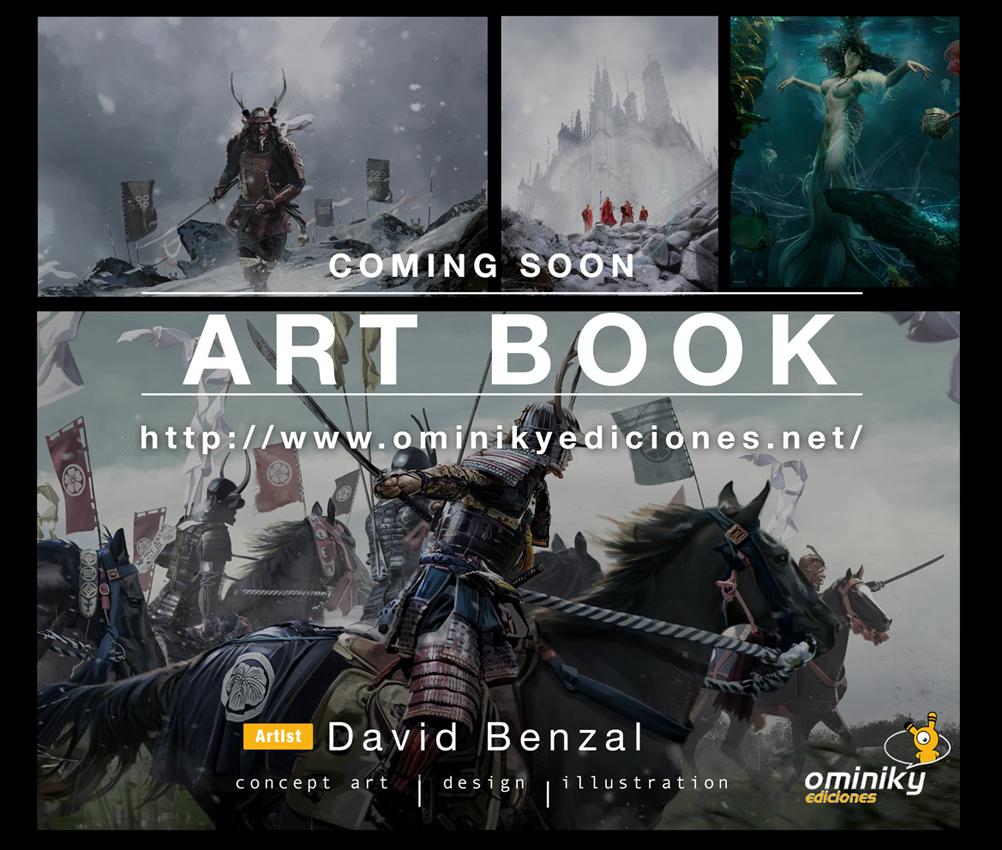 Ominiky presenta el Artbook de David Benzal