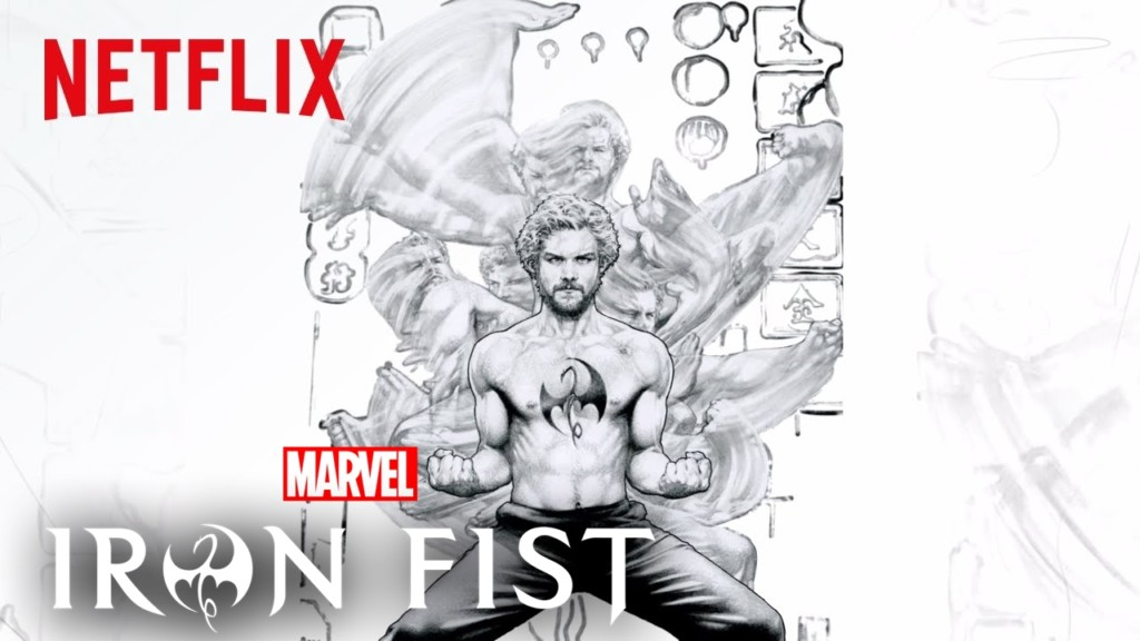 Nuevo póster y vídeo de Marvel Iron Fist