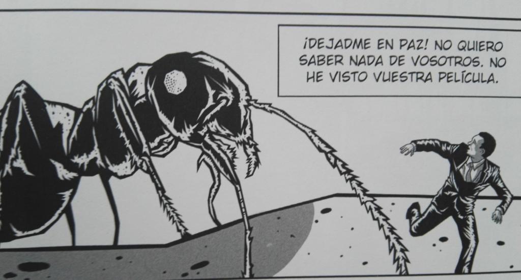Takoyaki de tebeos: De Hormigas gigantes y Poetas granadinos.