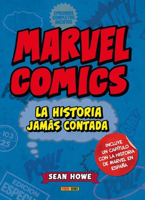 Marvel Comics: La historia jamás contada portada