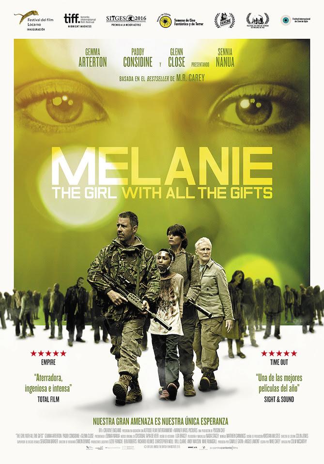 Melanie. The girl with all the gifts se estrena este viernes 3 de febrero