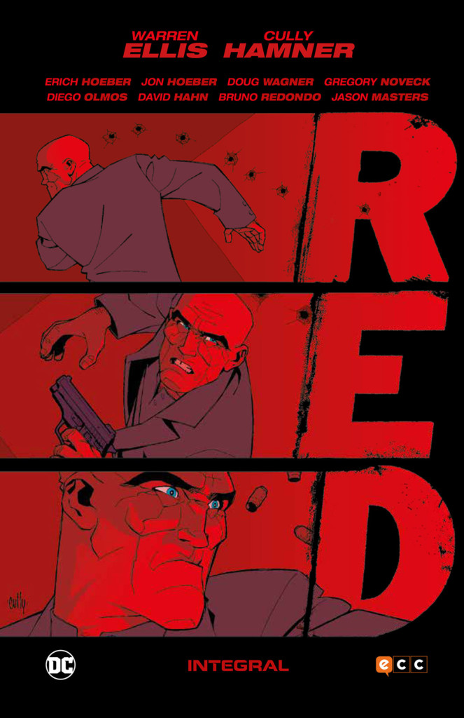 Reseña: RED. Integral, por Warren Ellis, Cully Hamner y otros