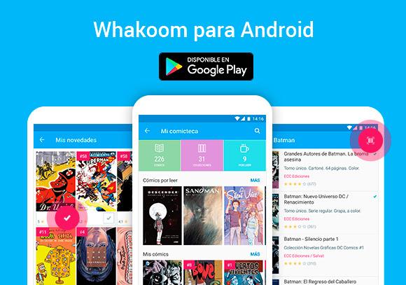 Ya está aquí la App de Whakoom