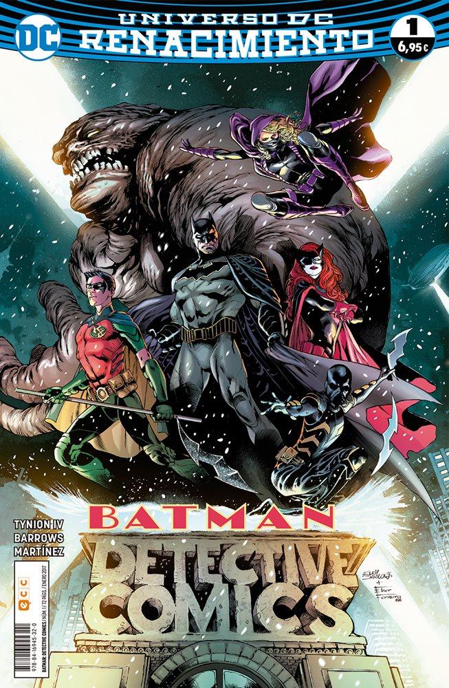 Reseña Batman: Detective Comics Renacimiento #1