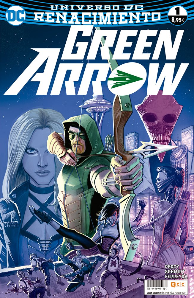Green Arrow Renacimiento portada