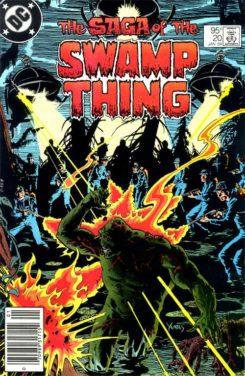 La Cosa del Pantano de Scott Snyder La cosa del pantano Vol 2 #20