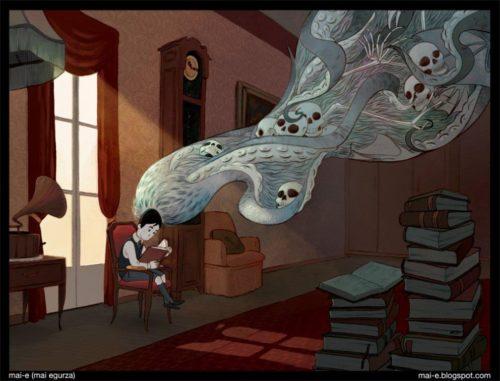 Mai Egurza - Joven Lovecraft
