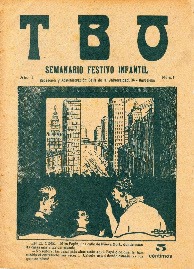 100 años del TBO
