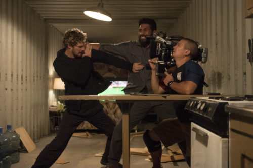 Iron Fist (behind the scenes)