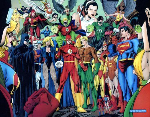 Liga de la justicia: Año Uno. Splash
