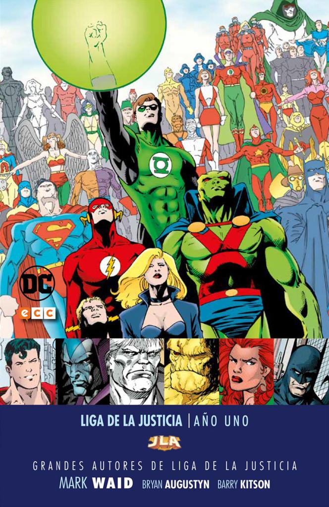 Liga de la Justicia: Año Uno, de Mark Waid, Bryan Augustyn y Barry Kitson
