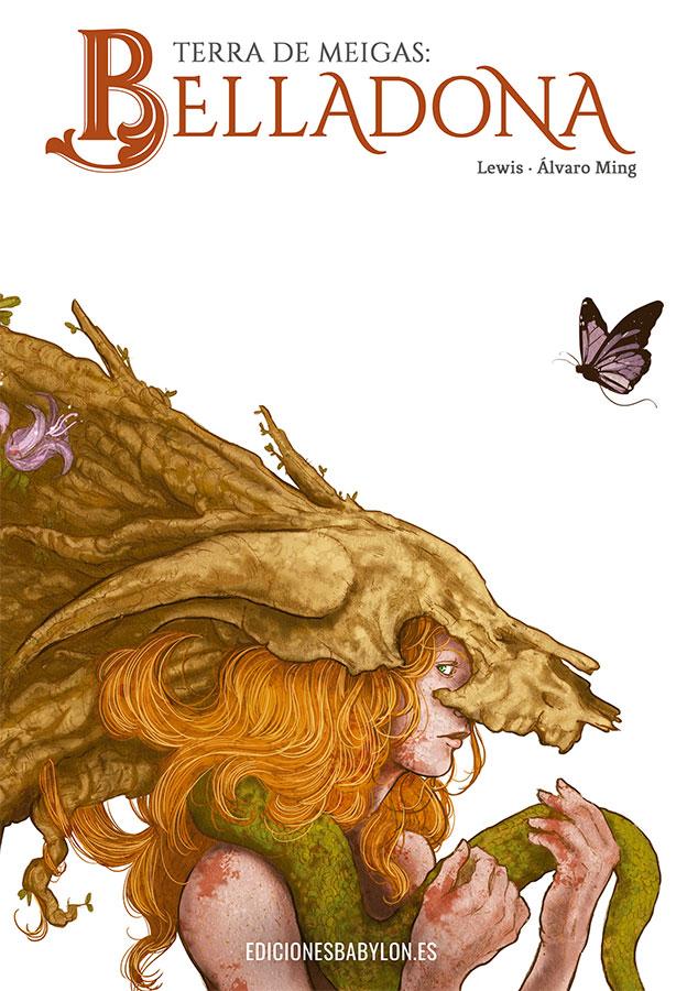 Error de impresión en Terra de Meigas: Belladona. Ediciones Babylon