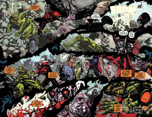 La Cosa del Pantano de Scott Snyder rotworld