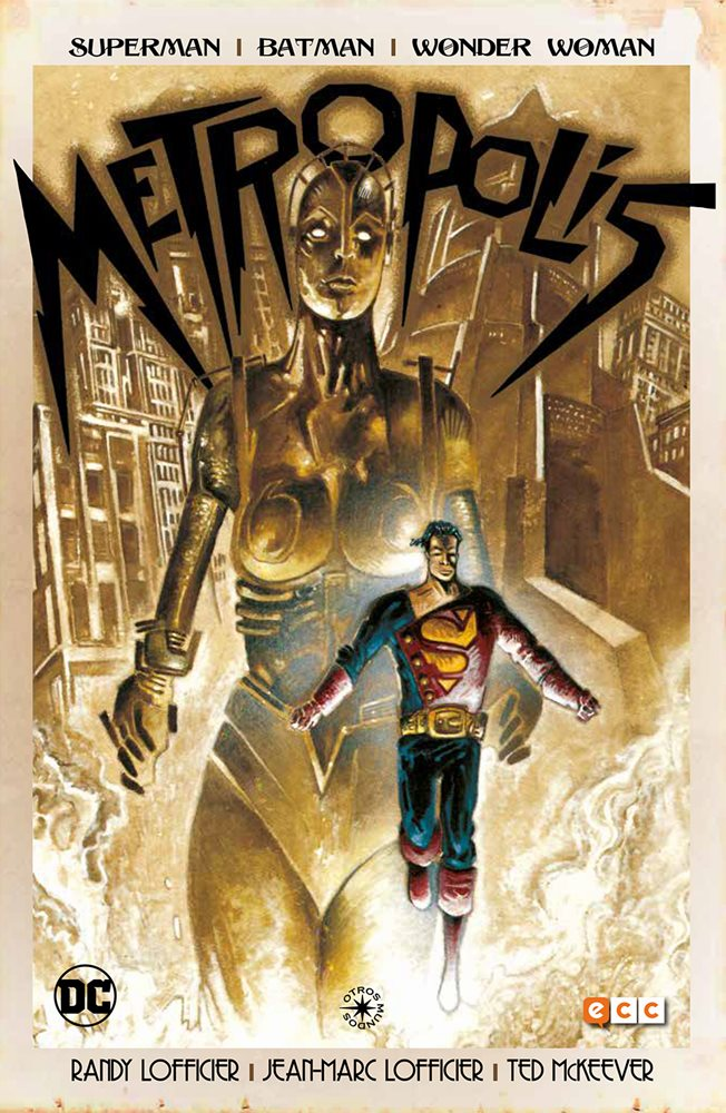 Reseña Superman/Batman/Wonder Woman: Metropolis