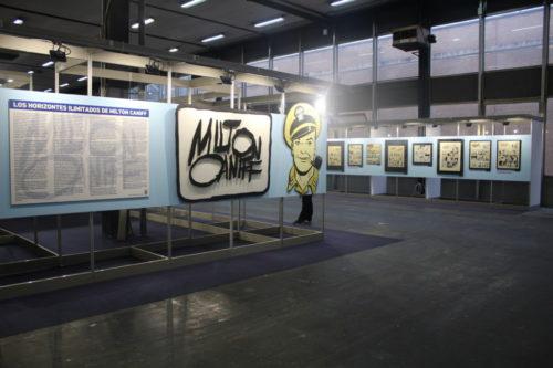 Exposición Milton Caniff