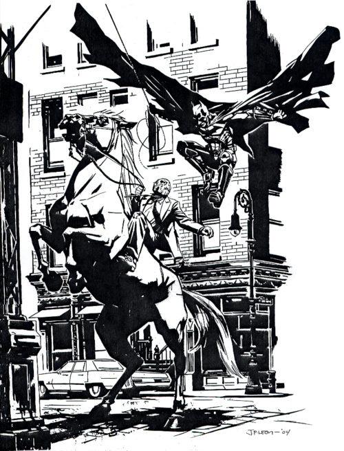Batman por John Paul Leon
