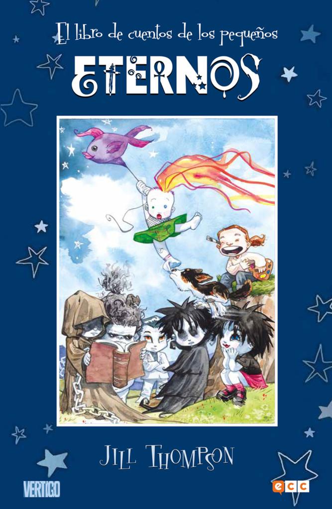Reseña: El libro de cuentos de los pequeños Eternos.