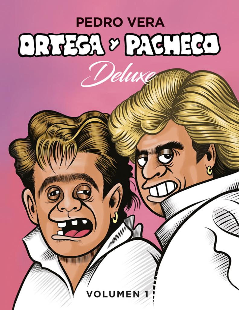 Ortega y Pacheco Deluxe. Vol. 1  Portada