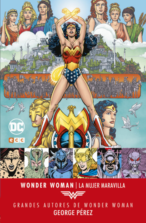 wonder woman george perez ecc