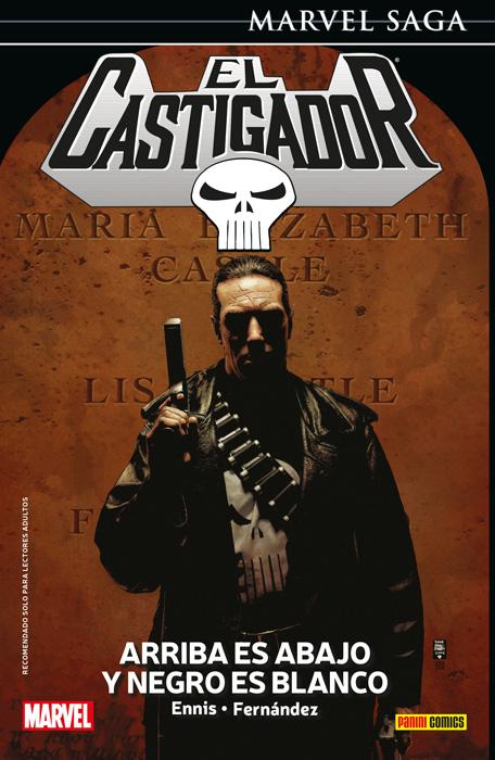 Marvel Saga El Castigador 5. Arriba es abajo y negro es blanco