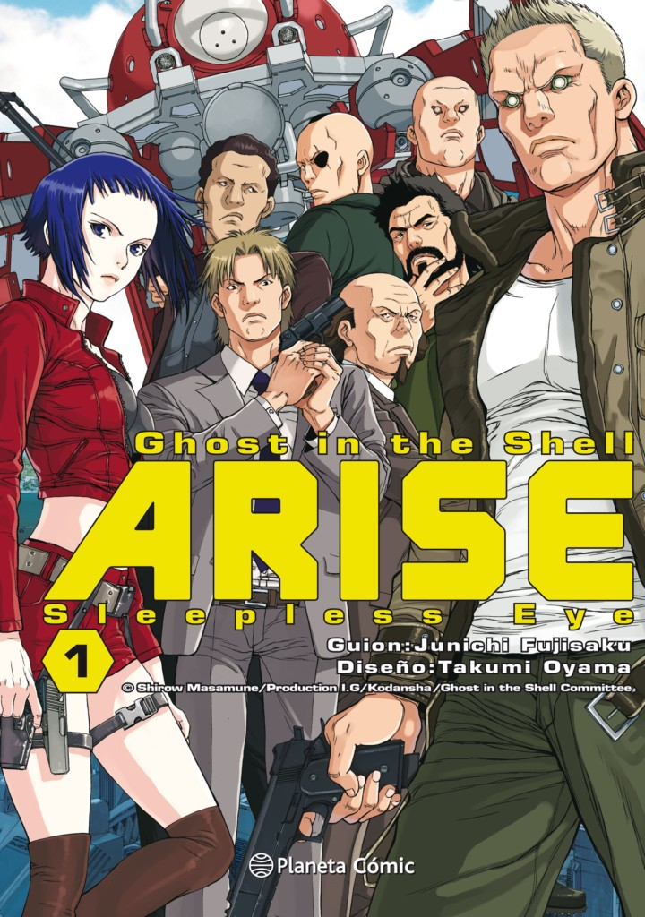 Ghost in the Shell: Arise 1 – Sleepless Eye