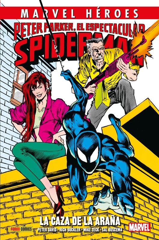 Marvel Héroes. Peter Parker, El Espectacular Spiderman: La Caza de la Araña