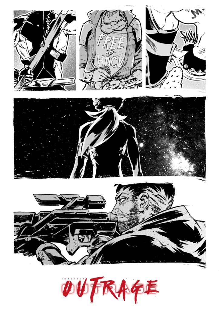 Infinity: Outrage 03
