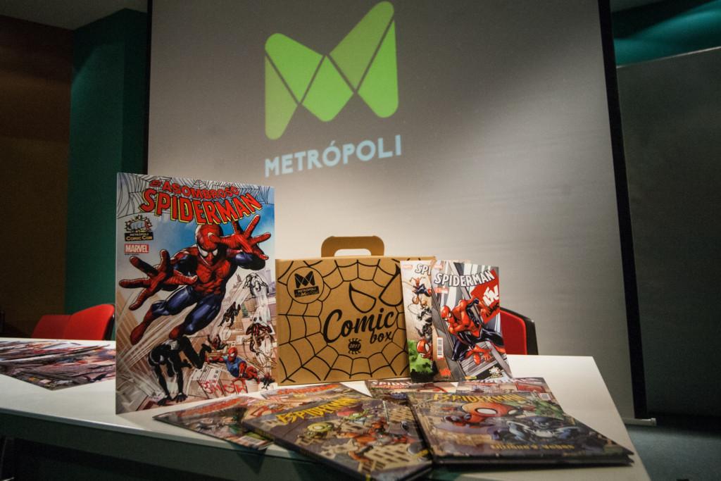 Metrópoli Comic Con lanza ocho cómics exclusivos