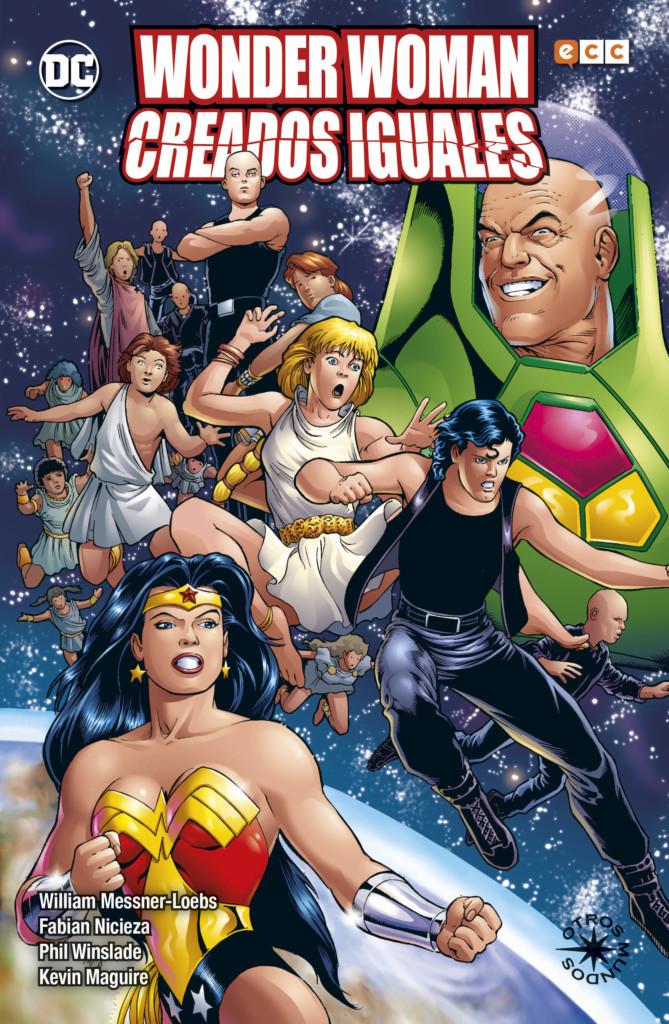 Reseña de Wonder Woman Creados Iguales
