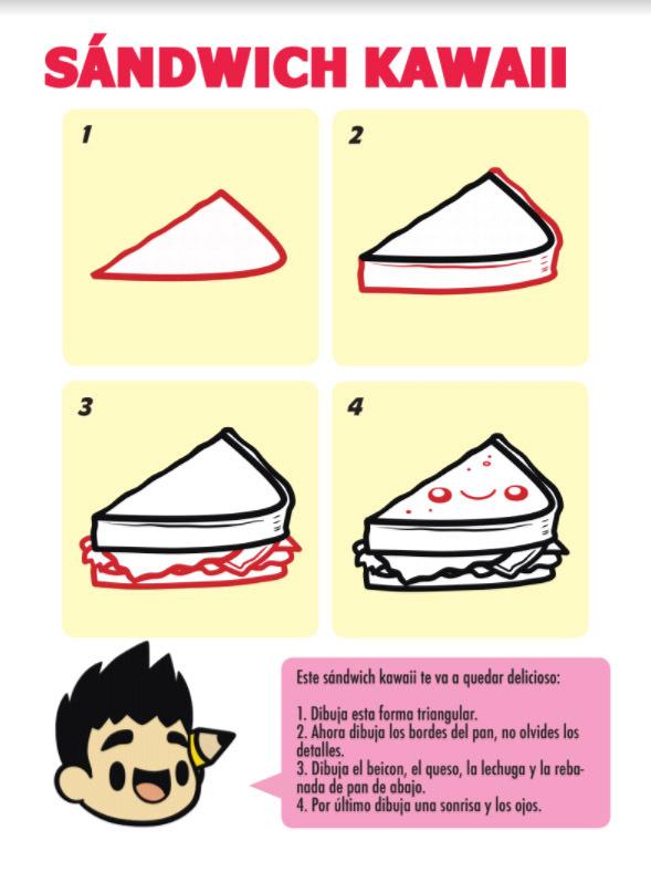 Resena Para Es La Hora De Las Tortas De Como Dibujar Kawaii