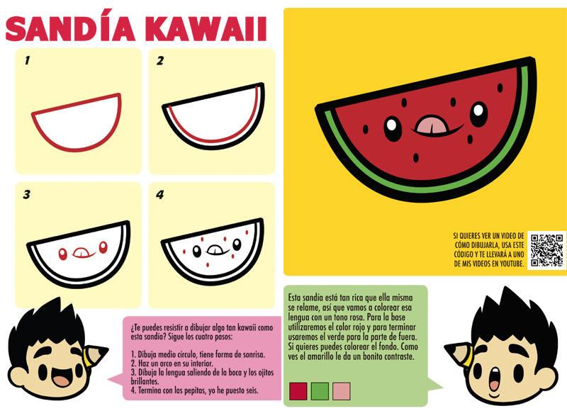 Reseña Para Es La Hora De Las Tortas De Cómo Dibujar Kawaii