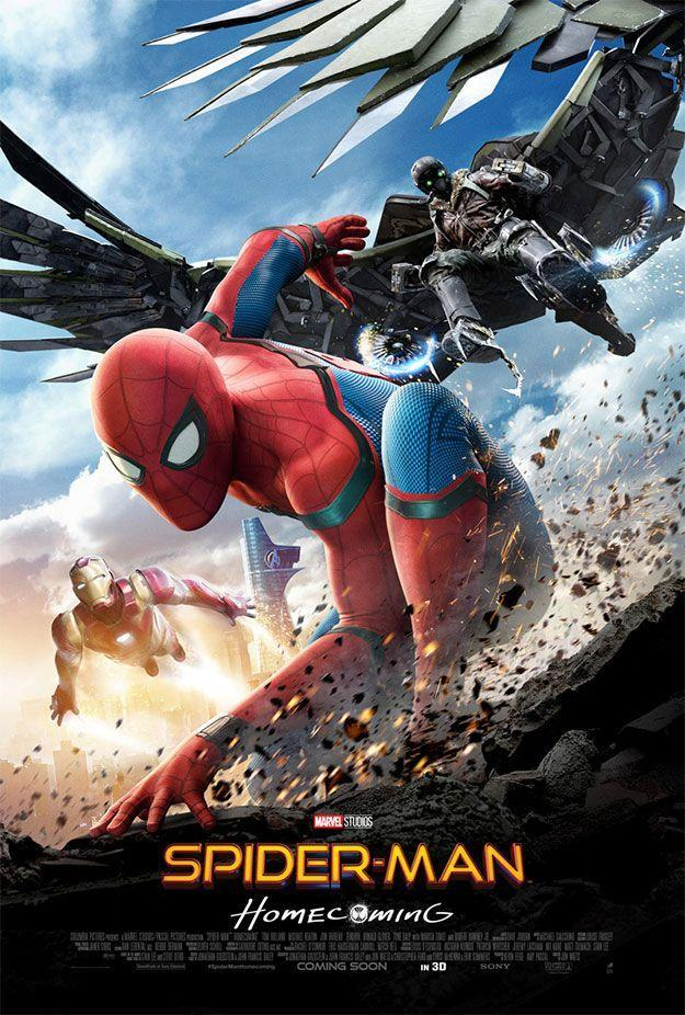 Cine: Spider-Man Homecoming