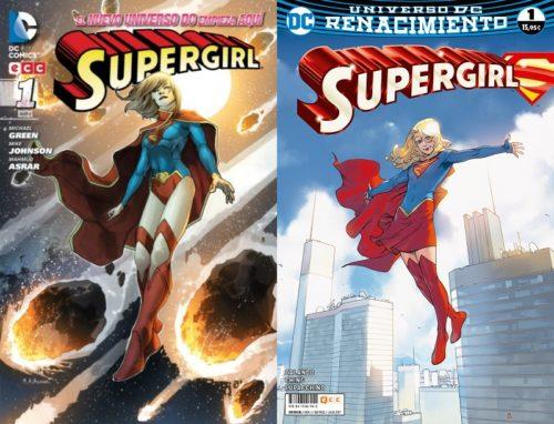 supergirl n52 vs renacimiento