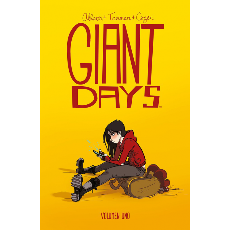 Reseña de Giant Days 1